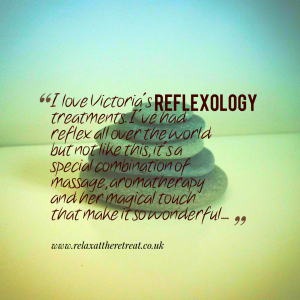 Reflexology at The Retreat